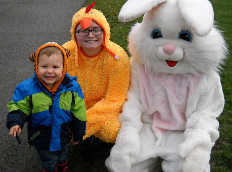 Easter Bunny Spring Egg Hunt