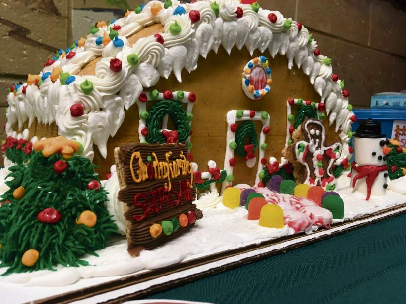Gingerbread House from 2017 Night of Lights Contest