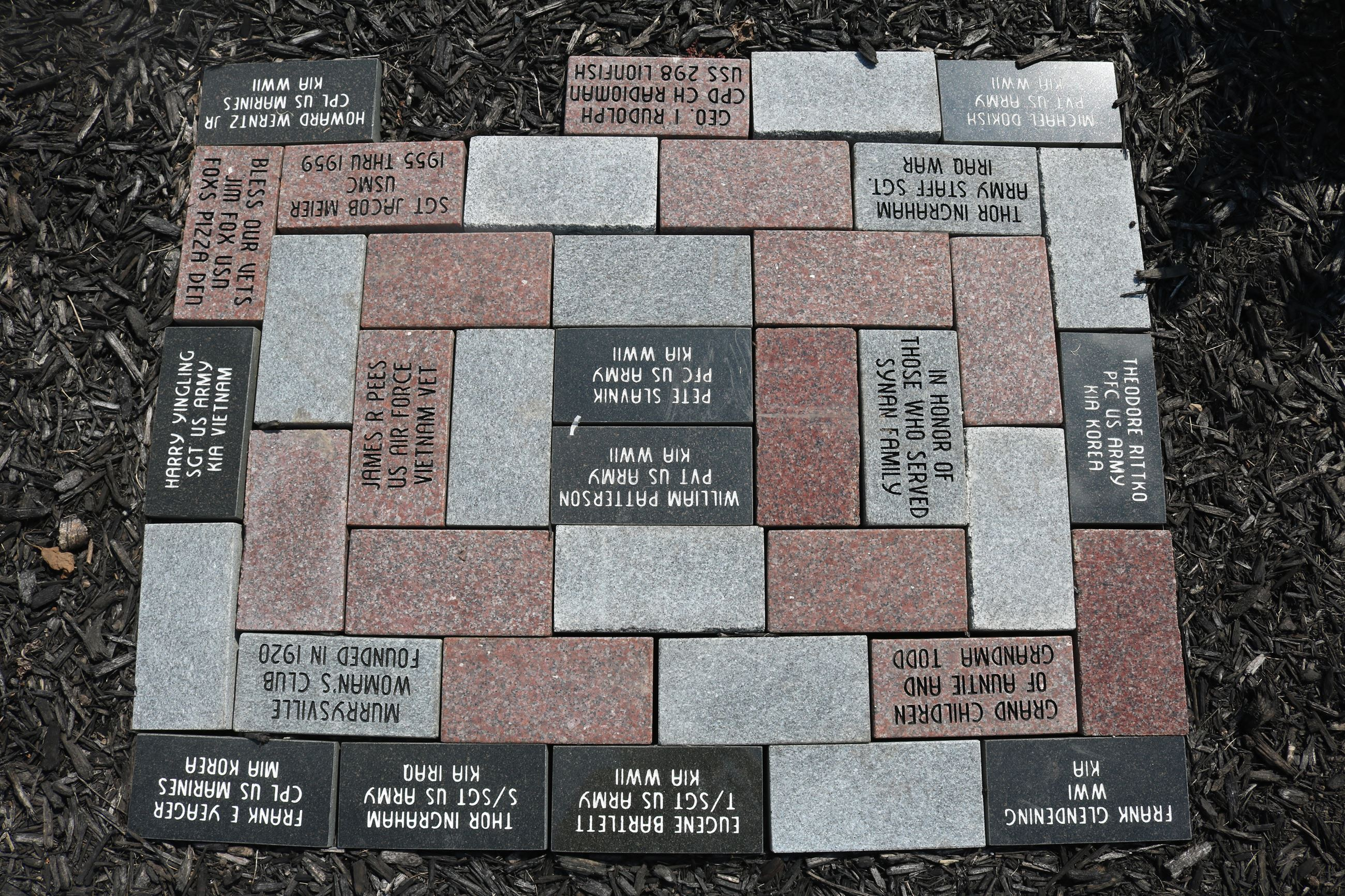 MCP monument pavers